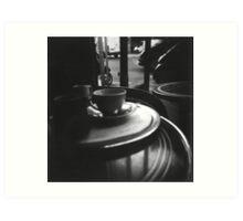 Coffee in Paris Art Print