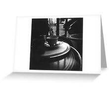 Coffee in Paris Greeting Card