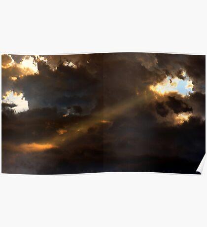 Heavenly Spotlight Poster