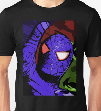 Comicy Hero - Blue Spidey  Unisex T-Shirt