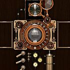 Steampunk Camera #2A phone cases by Steve Crompton