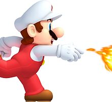 Fire Mario by GoseiSilver