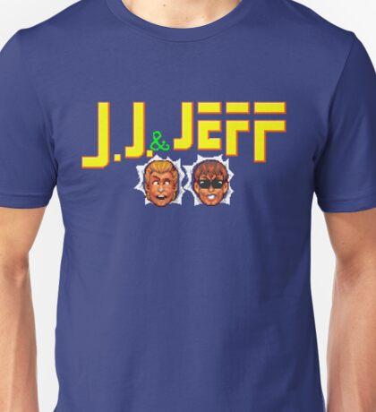 J. J. & Jeff - Turbografx Title Screen Unisex T-Shirt