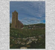 Glencolmcille Panorama with Church One Piece - Long Sleeve