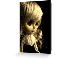 Dark Side of the Doll Greeting Card
