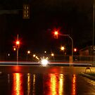 Portage Ave at Night by Geoffrey
