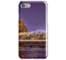 Moon Over Canyon deChelly iPhone Case/Skin