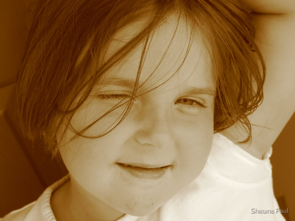 Beautiful daughter by Shawna Faul