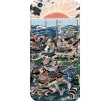 Samurai at the battle of Nyorin Temple phone cases iPhone Case/Skin
