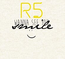 R5 wanna see you smile (black) Pullover