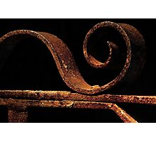 Rusted gate Photographic Print