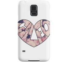 Floral Caleo  Samsung Galaxy Case/Skin