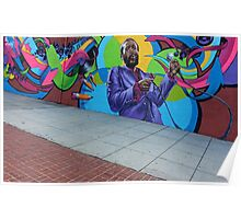 Marvin Gaye -- The New Hometown Mural Poster