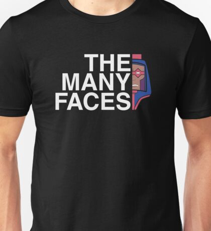 The Many Faces Unisex T-Shirt