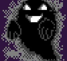 Lavender Town - Ghost by holycrow
