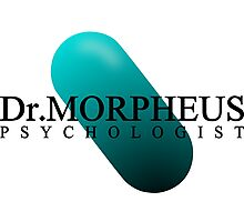 Doctor MOPHEUS - PSYCHOLOGIST Photographic Print