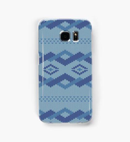 knitted pattern Samsung Galaxy Case/Skin