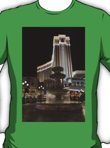 Night Glow at the Venetian Las Vegas T-Shirt