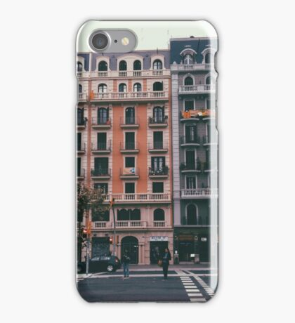 Downtown Barca iPhone Case/Skin
