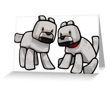 MineDOGs Greeting Card