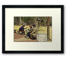 Waiting for Godot (3) Framed Print