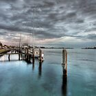 Tuncurry Shoreline by Christopher Meder