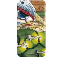 Faerie Queen in Candle lit Chamber iPhone Case/Skin