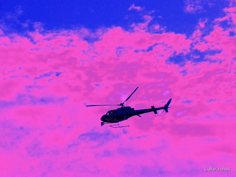 Pink charlie by Luke Jones