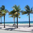 Florida, Fort Lauderdale Beach by SlavicaB