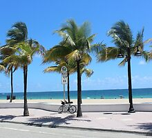 Florida, Fort Lauderdale Beach by SlavicaB