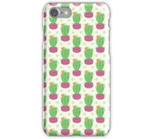 Happy Little Cactus iPhone Case/Skin