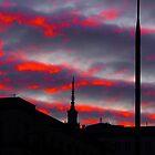 Bloody Sky by Andriy Portyanko