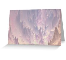 Pastel Cathedral Looking Down Greeting Card