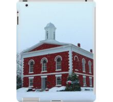 Iron County Courthouse Dressed for Christmas iPad Case/Skin