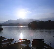 Derwent With Boats by Adam Jones