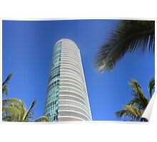 High rise building in Miami, Florida Poster