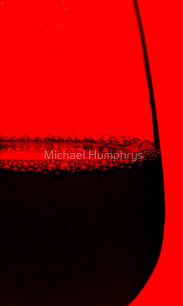 Abstract Bubbly by Michael Humphrys
