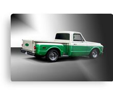 1971 Chevrolet C10 Stepside Pickup 'Studio 2' Metal Print
