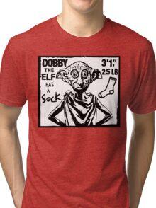 Dobby The Elf Has A Sock Tri-blend T-Shirt