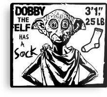 Dobby The Elf Has A Sock Metal Print