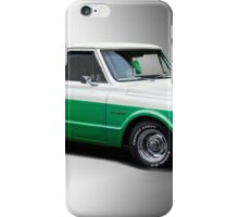 1971 Chevrolet C10 Stepside Pickup 'Studio 1' iPhone Case/Skin
