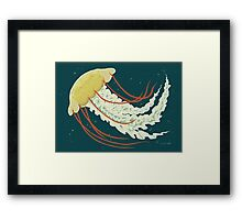 Nice Jellyfish Framed Print