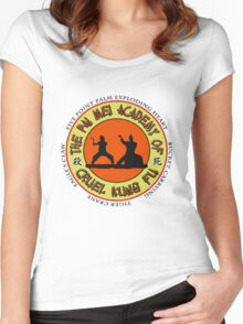 Pai Mei Academy (Light Background) Women's Fitted Scoop T-Shirt