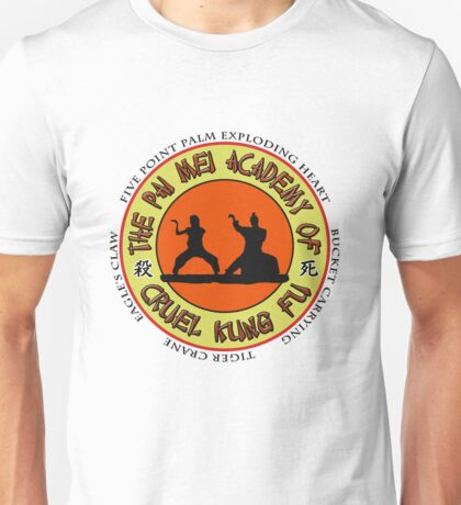 Pai Mei Academy (Light Background) Unisex T-Shirt
