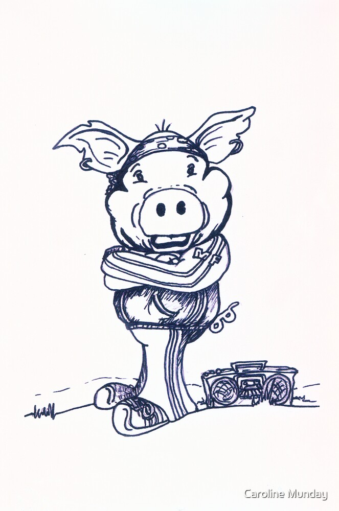 Mofo Pig by Caroline Munday