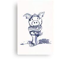 Mofo Pig Metal Print