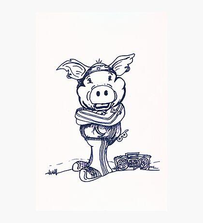 Mofo Pig Photographic Print