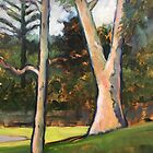 Trees, Basterfield Park by Roz McQuillan