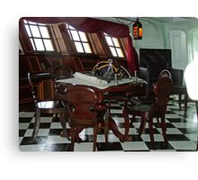 Admiral Nelson's Cabin Canvas Print