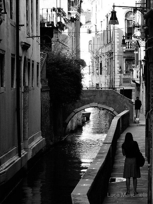 Narrow Canal by Luca Mancinelli